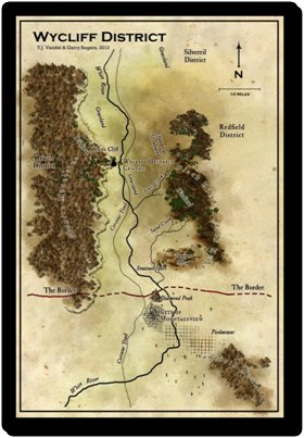 Garry Rogers - Wycliff Map 1